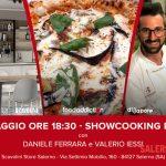 Daniele Ferrara e Valerio Iessi protagonisti di un nuovo show-cooking nella terra della pizza